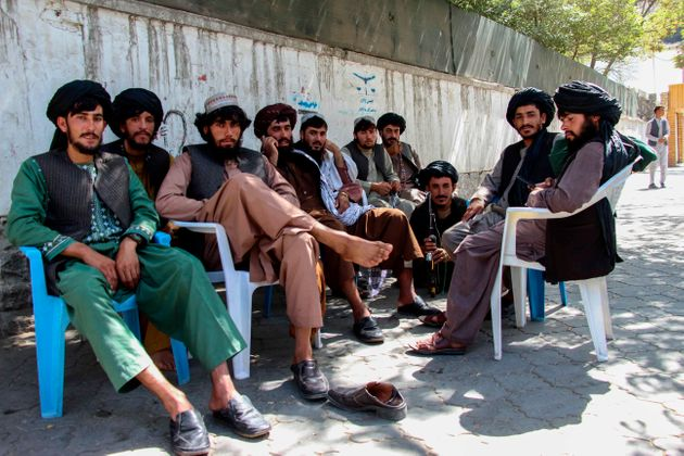 Una patrulla de las fuerzas talibanas, retratada en Kabul, el pasado 15 de