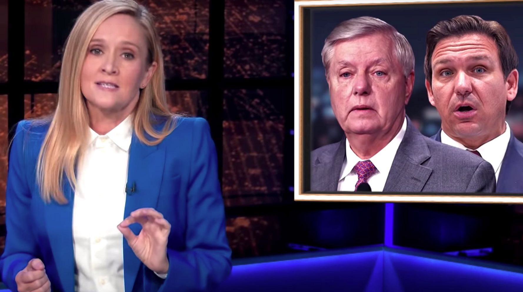 Sam Bee Spots Real Reason For GOP Fearmongering On Vaccines, Mandates