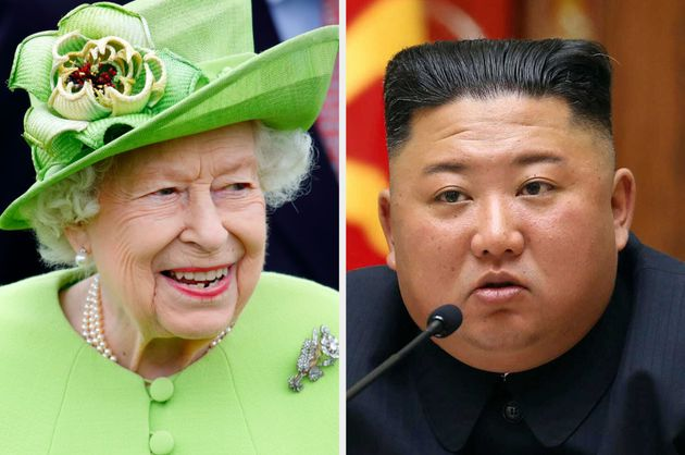 The Queen sent a message to Kim Jong Un in