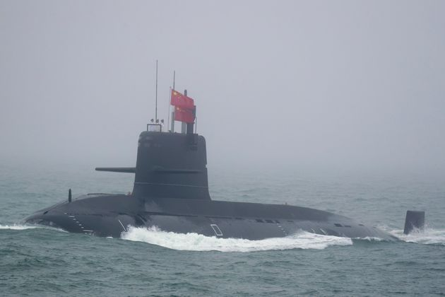 A Great Wall 236 submarine of the Chinese People's Liberation Army (PLA) Navy, billed by Chinese state...