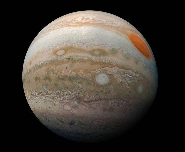 Jupiter a été frappée par un objet non identifié le 14