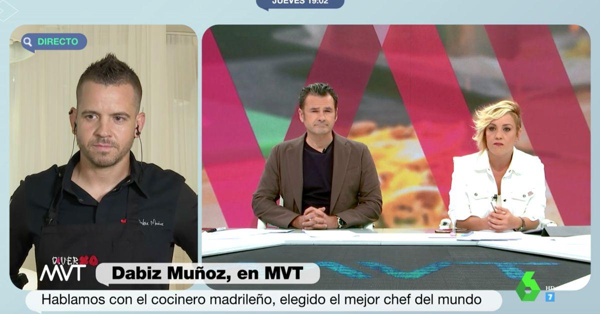 Dabiz Muñoz responde a una pregunta de Cristina Pardo de una forma muy sincera y nada habitual