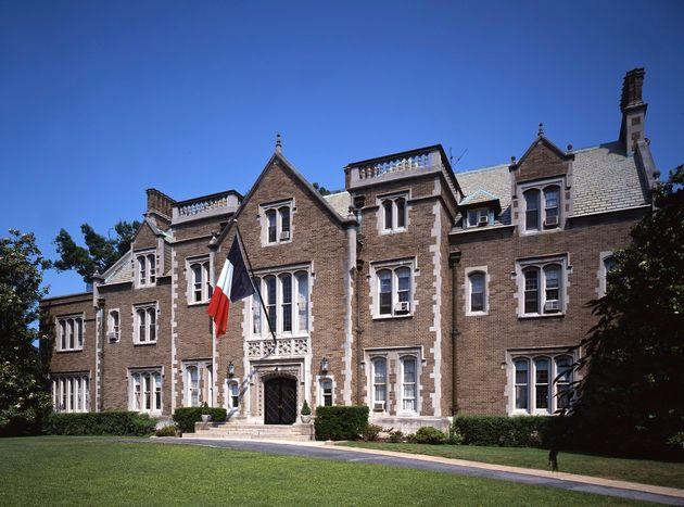 La résidence de l'ambassadeur de France à Washington, aux