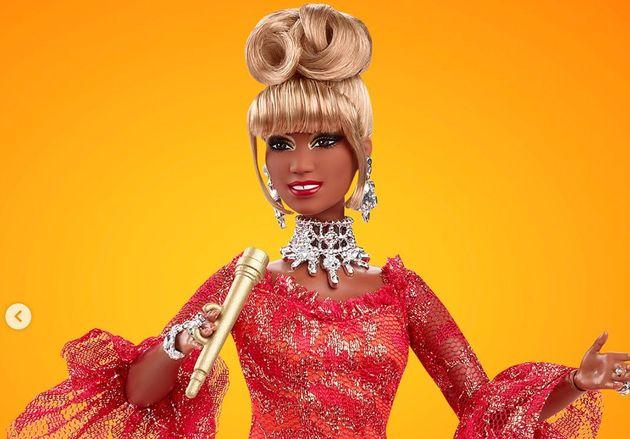 La nueva muñeca de Barbie de la cantante Celia