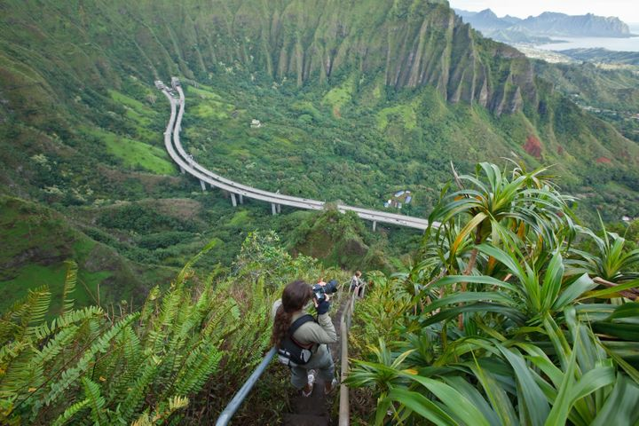 The Haiku Stairs are a popular attraction on Oahu, but they've long been a subject of debate among residents.