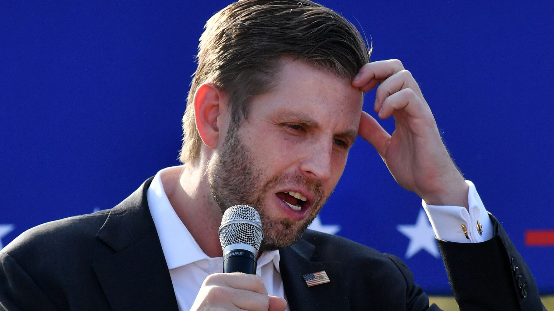 Eric Trump Asks Question About His Dad, Gets The Same Stinging Response