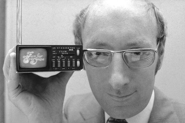 Clive Sinclair ici le 18 septembre 1977 à New