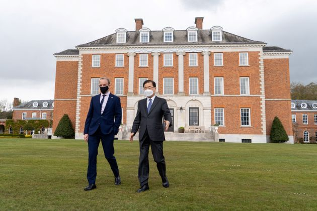 Raab hosting South Korea's foreign minister at Chevening in May