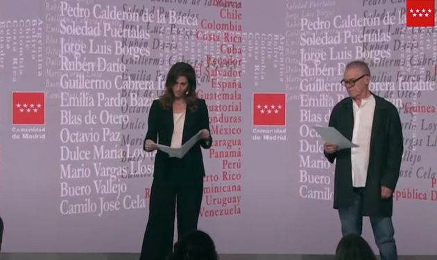 Acto de presentación de la Oficina del Español dirigida por Toni