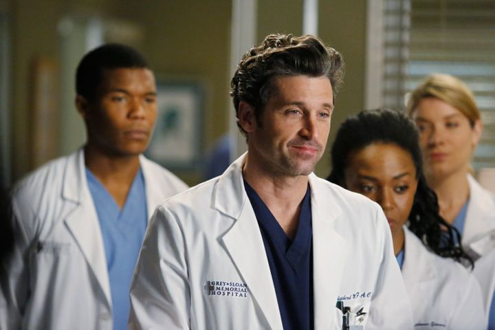"""""""You have to be grateful, because you're well compensated,"""" Patrick Dempsey said."""