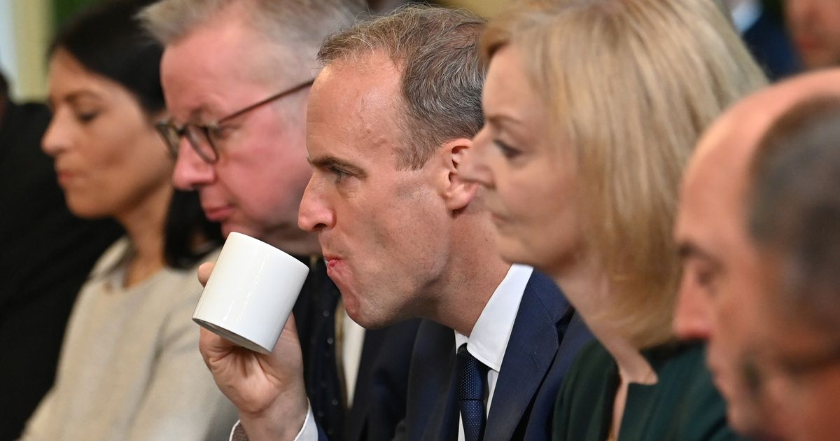 3 Photos Which Sum Up The Tensions In Johnson's New Cabinet Perfectly