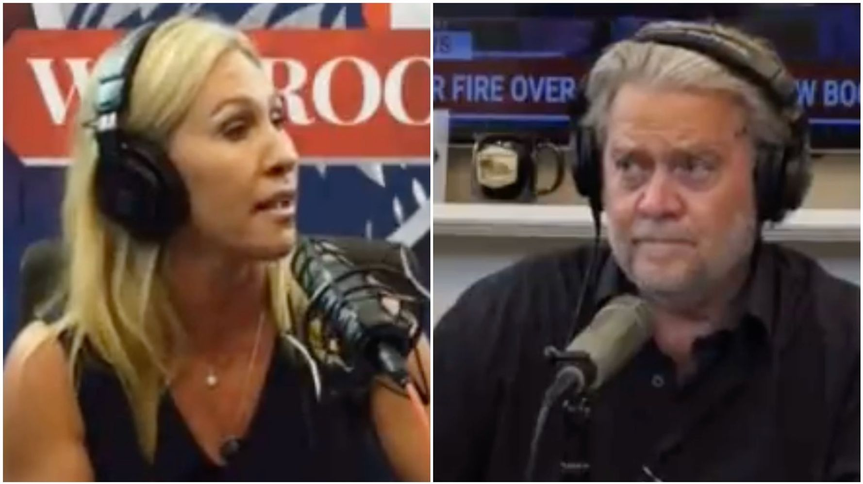 Even Steve Bannon Looks Skeptical About Rep. Marjorie Taylor Greene's Latest Claim