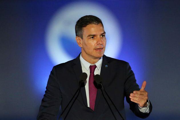 El presidente del Gobierno, Pedro Sánchez, este viernes en Atenas