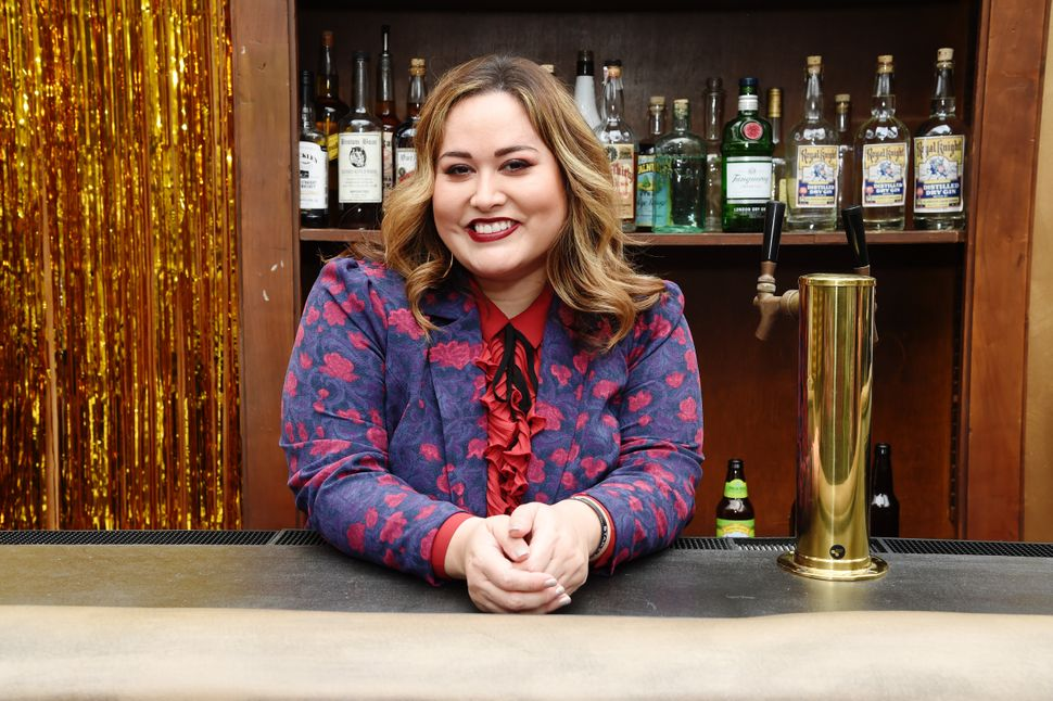 """""""Vida"""" creator Tanya Saracho, shown here at an event for Starz in 2019, says that, despite her classical training, she often"""