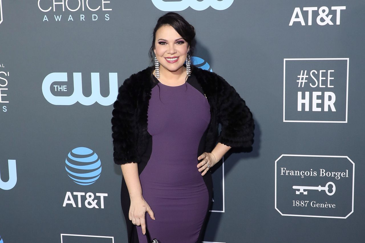 "Gloria Calderón Kellett, shown here at the 2019 Critics' Choice Awards, says she feels a sisterhood with ""so many Latina showrunners."""