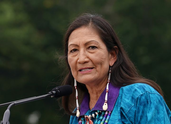 """Secretary of the Interior Deb Haaland said Friday that """"the past several years have been incredibly disruptive"""" to the Bureau of Land Management, and vowed to """"revitalize and rebuild"""" the agency."""