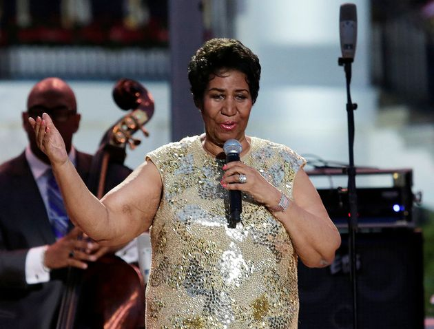Aretha Franklin, ici lors d