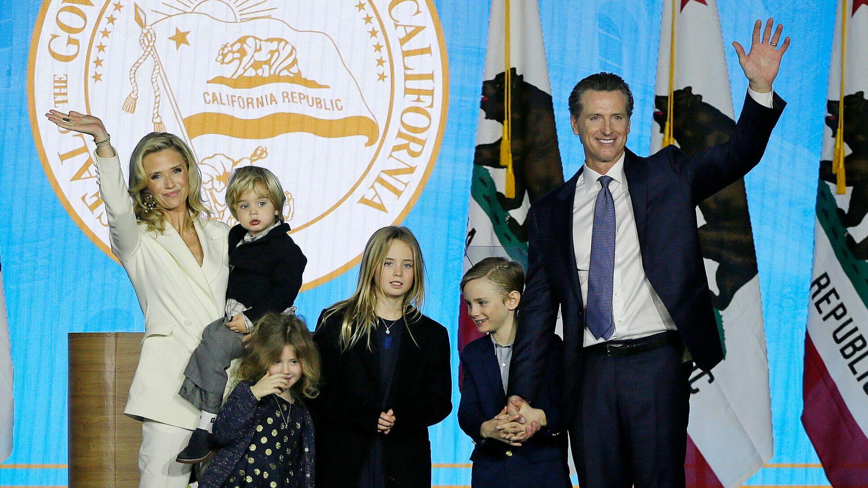 Two Of California Gov. Gavin Newsom's Children Test Positive For COVID-19