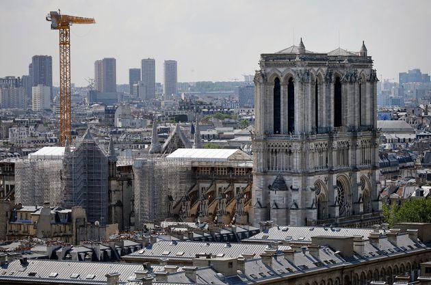 Notre-Dame de Paris va pouvoir débuter ses travaux de restauration(Photo prise en juillet 2021 par Chesnot/Getty Images)