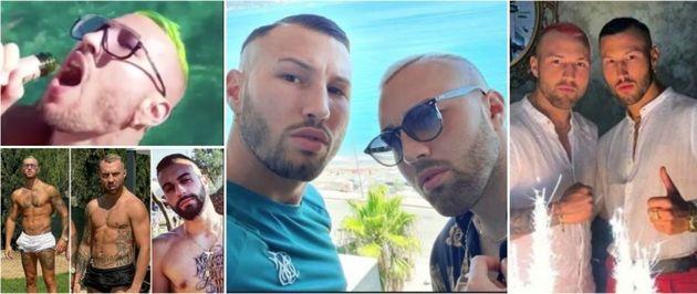 Le foto dei fratelli Bianchi su
