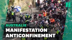 Une manifestation contre le confinement dégénère en