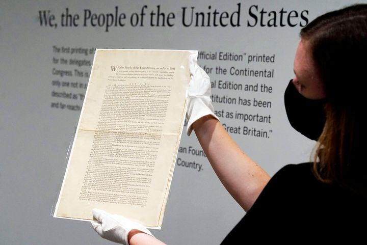 It's the only copy that remains in private hands and has an estimate of $15 million to $20 million.