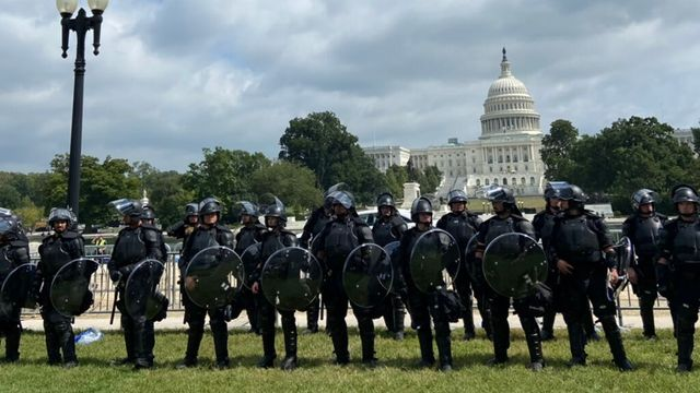 Rally In Support Of Capitol Attackers Draws A Small Crowd.jpg