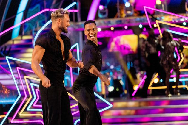 John and Johannes made their dance floor debut during the pre-recorded launch show, which aired last