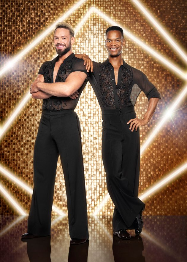 The pair are Strictly's first-ever all-male