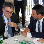 Giorgetti mette ancora il dito nella piaga di Salvini: