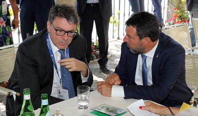 Giancarlo Giorgetti e Matteo