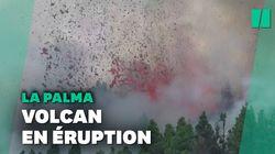 Un volcan entre en éruption sur l'île de La Palma aux