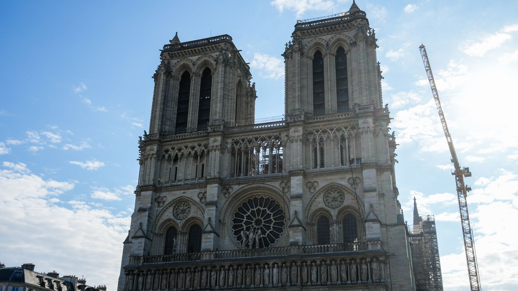 Rebuilding Of France's Notre Dame Cathedral To Begin After 2019 Fire