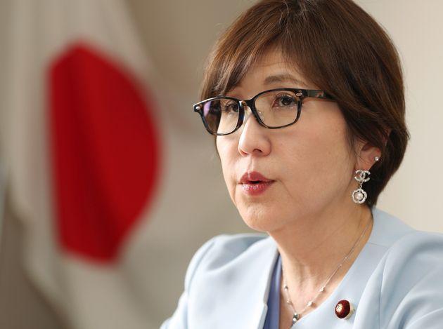 自民党の稲田朋美元防衛大臣