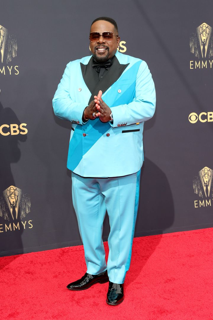 LOS ANGELES, CALIFORNIA - SEPTEMBER 19: Host Cedric the Entertainer attends the 73rd Primetime Emmy Awards at L.A. LIVE on Se