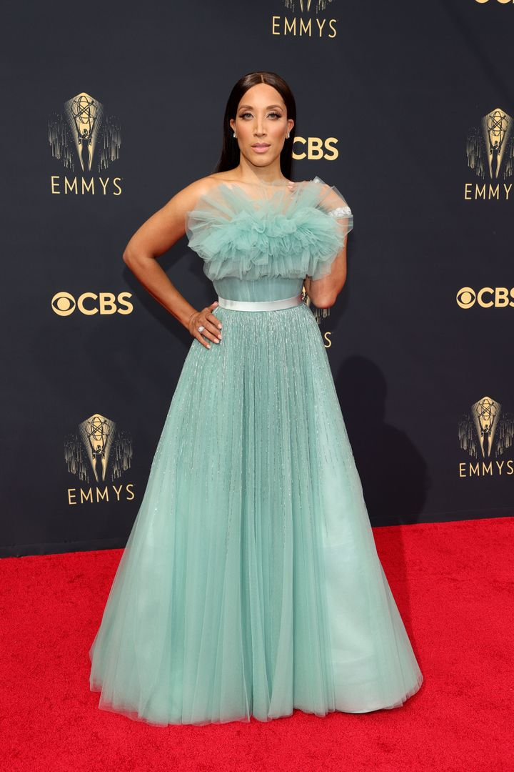 LOS ANGELES, CALIFORNIA - SEPTEMBER 19: Robin Thede attends the 73rd Primetime Emmy Awards at L.A. LIVE on September 19, 2021