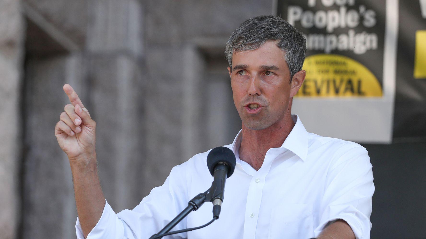 Beto O'Rourke Eyes 2022 Challenge To Texas GOP Gov. Greg Abbott