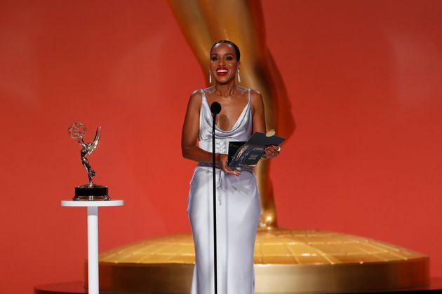 Kerry Washington à la 73e cérémonie des Emmy Awards le 19 septembre