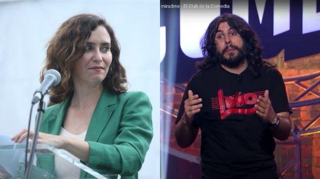 Isabel Díaz Ayuso y JJ