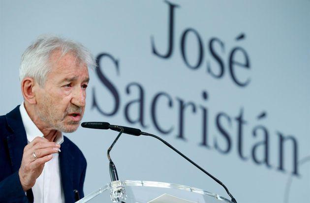 José Sacristán, en su discurso por el Premio Nacional de