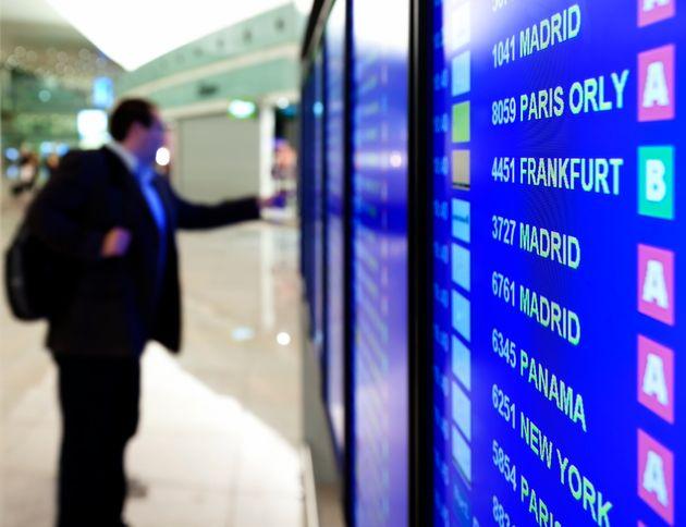 Arrival/Departure Board in a
