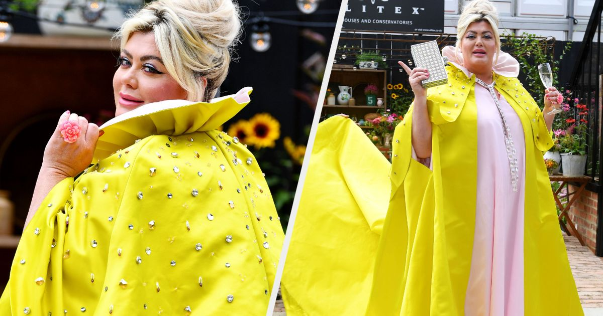Gemma Collins' Appearance At The Chelsea Flower Show Was Typically Low Key (Not)