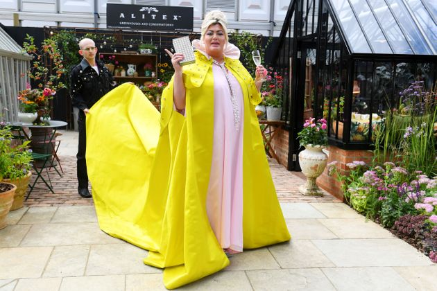 Gemma Collins at the Chelsea Flower