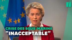 Pour von der Leyen, la France a été traitée de façon