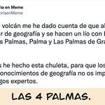 El tremendo repaso en Geografía que triunfa en Twitter tras la erupción del volcán en La