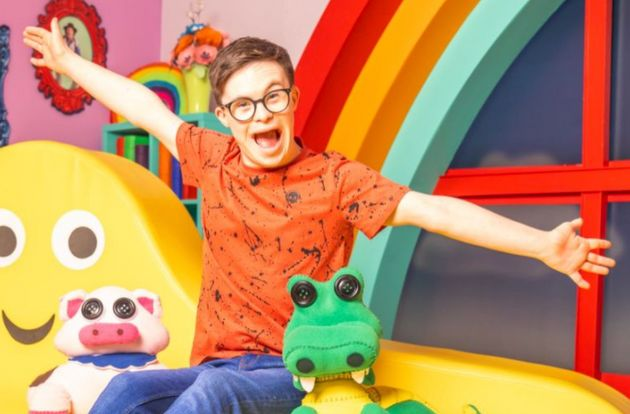 George,who has Down's syndrome, is an actor, dancer and ambassador for the charity