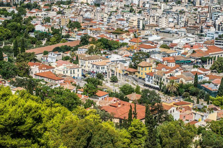 Η κατοικημένη Αθήνα από ψηλά