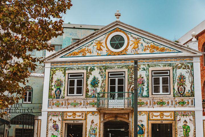 Μια εκπληκτική πρόσοψη στην Λισαβόνα