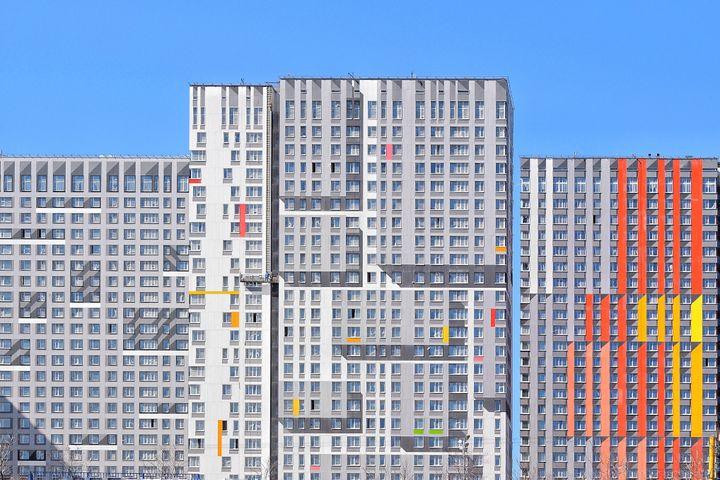 Σύγχρονες πολυκατοικίες της Μόσχας
