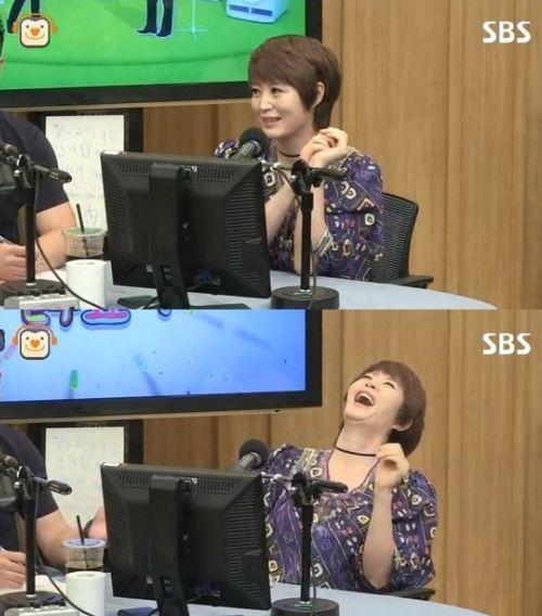 SBS '두시탈출 컬투쇼'에 출연했을 당시의